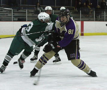 Falcon Hockey dominated JFK Mustangs 10-1, Jan 13th, 2012 in the Wall NJ Shore Arena