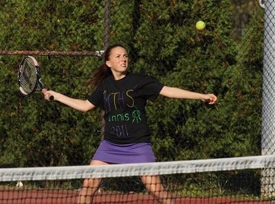 Girls Tennis vs Mother Seton, October 17th, 2011, photos by R. DeBoer