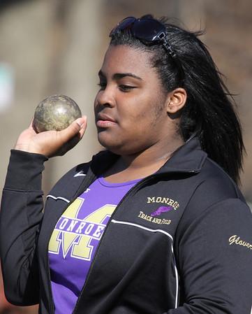 Girls Track vs Woodbridge Barrons ,April 10,2014