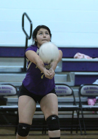 1st Round GMC Volleyball vs OBHS , Oct 24, 2013, loss in two sets