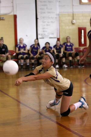 Falcon Volleyball Var vs Eagles of Edison, Sept. 25, 2013
