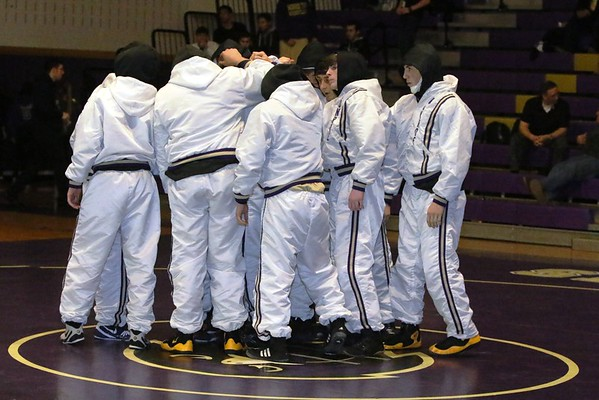 Falcon grapplers vs South Plainfield, Jan 15, 2016
