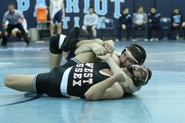 Monroe Grapplers over West Essex HS, Jan 17 2015