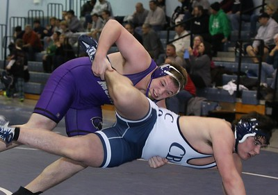 Wrestlers fall to CBA, Jan 3, 2015