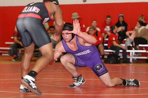 Wrestling defeated Bishop Ahr Trojans , 55-15, Jan 15, 2014 (Varsity)