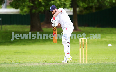Maccabi Cricket v South Yarra 6-10-13