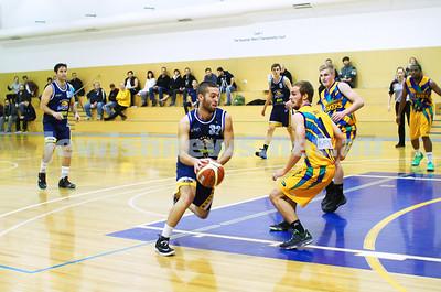 Maccabi Warriors Basketball 1-6-14