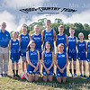 MCJH Cross-country Team 2016  5x7