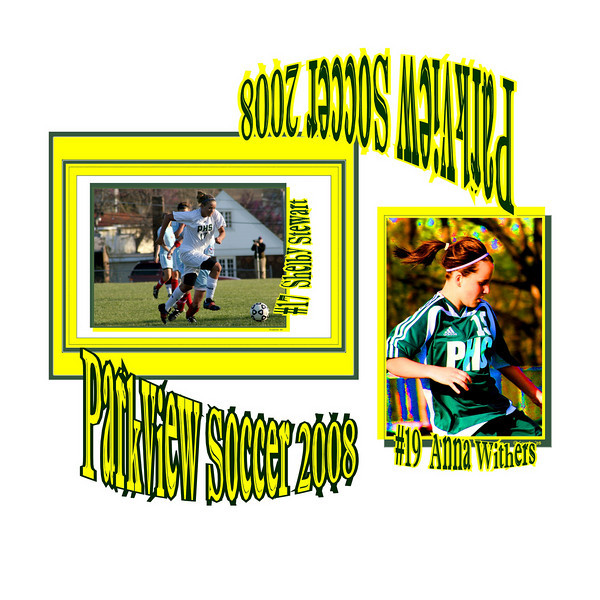 These Photo Are The Size That They Are Listed !  If It Says 5X7 It Is A 5X7.  .50 Of Sold Photos Go Towards Parkview Girls Soccer!