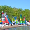 Over 60 Hobie Cats and F18s participated, racers came from Puerto Rico, Seattle, Boston, Michigan, and New Jersey