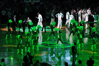 Magic at Celtics Game 5 Round 2 2009 Playoffs