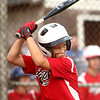 6-21-12<br /> Championship little league game between Lion's Club and McPike<br /> Noah Cameron bats for McPike during the championship game against Lion's Club on Thursday at Southside Park. <br /> <br /> KT photo | Kelly Lafferty