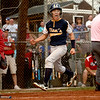 6-21-12<br /> Championship little league game between Lion's Club and McPike<br /> Sebastian Olson celebrates as he runs to homeplate to score a run for Lion's Club during the championship game against McPike on Thursday.<br /> <br /> KT photo | Kelly Lafferty