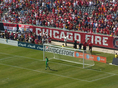 Manchester United VS Chicago Fire, July 23, 2011 in Chicago