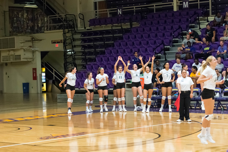 Manhattan College NCAA Division 1 Volleyball at WIU Invitational August, 2017