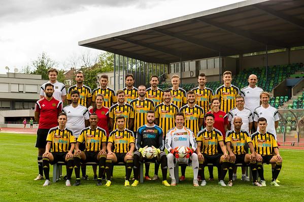 1. Mannschaft (August 2015)