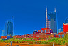 fun with photoshop...this is Nashville as a cartoon.