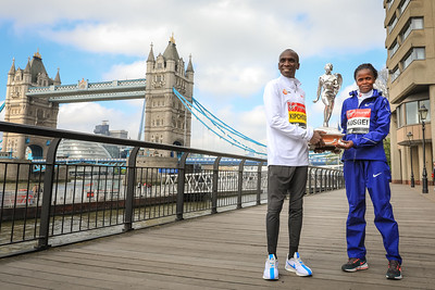 London Marathon Winners Photocall, London, UK - 29th April 2019