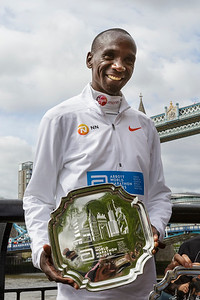 Champions photocall, 2018 Virgin Money London Marathon, London, UK