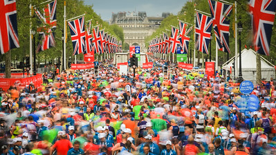 London Marathon - Mass Race, London, UK - 28th April 2019
