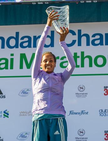 Mideast Emirates Dubai Marathon
