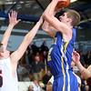 3-3-15<br /> Tri Central vs Clinton Prairie basketball<br /> Tri Central's Cody Howell shoots.<br /> Kelly Lafferty Gerber | Kokomo Tribune