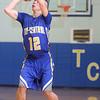 3-3-15<br /> Tri Central vs Clinton Prairie basketball<br /> Tri Central's Colby Malson shoots.<br /> Kelly Lafferty Gerber | Kokomo Tribune