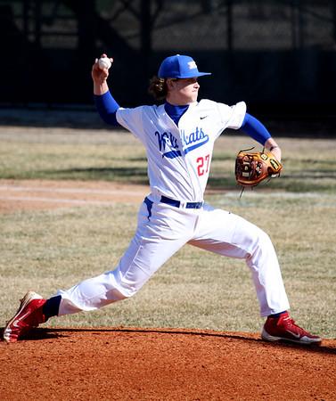 3-31-15<br /> Kokomo vs Eastern baseball<br /> Kokomo's Bayden Root pitches.<br /> Kelly Lafferty Gerber | Kokomo Tribune