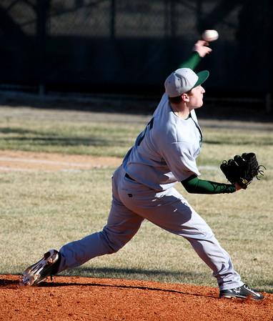 3-31-15<br /> Kokomo vs Eastern baseball<br /> Eastern's Caleb Aaron pitches.<br /> Kelly Lafferty Gerber | Kokomo Tribune
