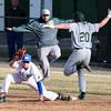 3-31-15<br /> Kokomo vs Eastern baseball<br /> Kokomo's first baseman Colan Ruch gets out Eastern's Taylor Tattersall.<br /> Kelly Lafferty Gerber   Kokomo Tribune
