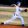 3-31-15<br /> Kokomo vs Eastern baseball<br /> Kokomo's S.A. Dunn pitches.<br /> Kelly Lafferty Gerber   Kokomo Tribune