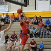 St. Anthony's Zach Gardewine shoots during the 22nd Annual Central Illinois Boys Basketball All-Star Game.