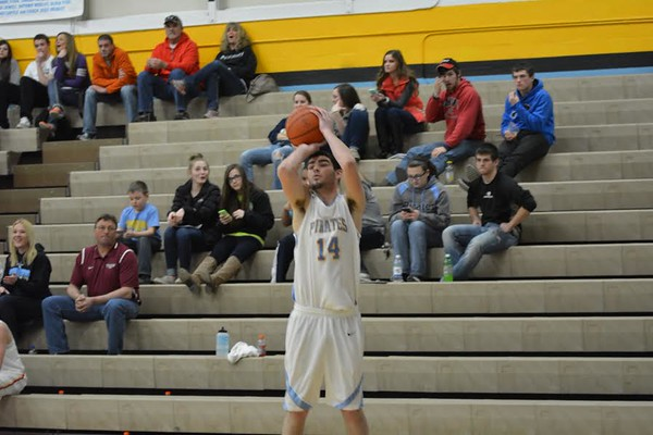 Cumberland's Caleb Brumleve shoots during the 22nd Annual Central Illinois Boys Basketball All-Star Game.