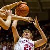 St. Anthony's Adam Levitt battles for a rebound during the Class 1A SIU Super-Sectional against Woodlawn.