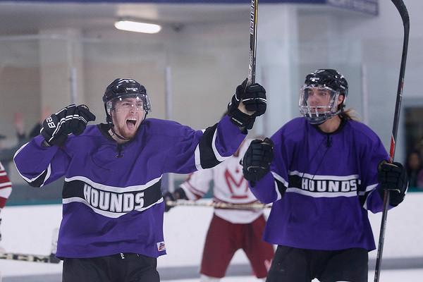 March 27, 2015: Hockey — TC Hounds vs. Motor City
