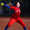4-1-14<br /> Kokomo vs Lebanon softball<br /> Kami Sharp pitches for Kokomo.<br /> KT photo | Kelly Lafferty
