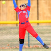 4-1-14<br /> Kokomo vs Lebanon softball<br /> Kokomo's Paris McCullum misses a catch in the outfield.<br /> KT photo | Kelly Lafferty