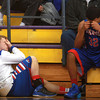 3-15-14<br /> Kokomo Regional Game against Homestead<br /> Jordan Eley and Jordan Matthews are emotional after Kokomo's loss to Homestead during the Regional tournament game.<br /> KT photo | Kelly Lafferty