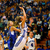 3-1-14  ---  Semi State girls basketball between Tipton and Canterbury. Tipton's Lela Crawford sailing in for an early game shot. -- <br /> KT photo   Tim Bath