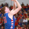 3-15-14<br /> Kokomo Regional Game against Homestead<br /> Kokomo's Erik Bowen puts up a shot.<br /> KT photo | Kelly Lafferty