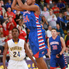 3-15-14<br /> Kokomo Regional Game against Homestead<br /> Kokomo's Mykal Cox goes up for a shot.<br /> KT photo | Kelly Lafferty