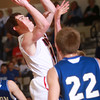 3-15-14<br /> Cass vs. Tipton Regional Championship<br /> Blake Hadley puts up a shot for Lewis Cass.<br /> KT photo | Kelly Lafferty