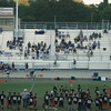 Marin Catholic at Vacaville - September 7, 2012<br /> <br /> Youth Football Night participants line the field to welcome the 'Dogs
