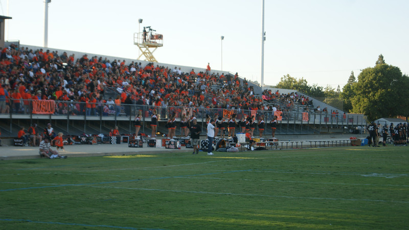 Marin Catholic at Vacaville - September 7, 2012<br /> <br /> Bulldog Nation supports our 'Dogs!