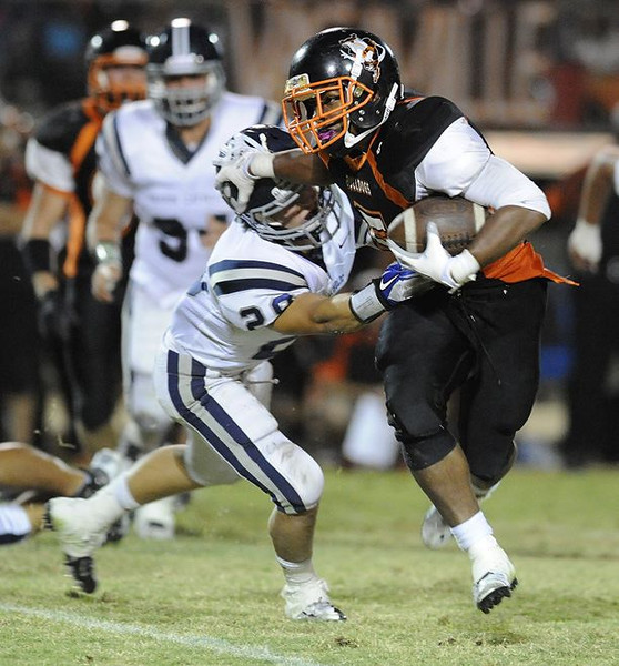 Marin Catholic at Vacaville - September 7, 2012