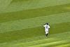 Ichiro takes the field.