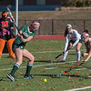 Nashoba's Natalie Brown lets go with a shot in the Div I Field Hockey Championship Game at Grafton HS. Marlboro scored with 4 seconds left to dethrone Nashoba. SENTINEL & ENTERPRISE / Jim Marabello