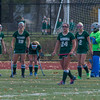 Nashoba players react with shock after a game winning goal by  Marlboro with 4 seconds left in the Div I Field Hockey Championship Game. SENTINEL & ENTERPRISE / Jim Marabello