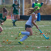 Nashoba's Erica Spallone chases Marlboro's Abigail Larson as she sets up te game winning goal with 4 seconds left. SENTINEL & ENTERPRISE / Jim Marabello