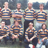 Back row: Richard Hartley, Robin Parsons, Pete Holloway, Jerry Godfrey, Pat Wright, Conrad Williams<br /> Front Row: Sandy Wieliczko, Steve Bentley, Mark Windale, Ian Tyler